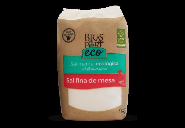 BIO Meersalz - fein - trocken - 100 % natürlich - aus Spanien- Naturpark Salinas Bras del Port- 1 Kg