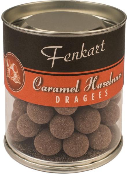 Caramel Nüsse 120g - Fenkart Schokoladengenuss - Schokoladen-Dragees Vollmilch Edelvollmichschokolade 43%