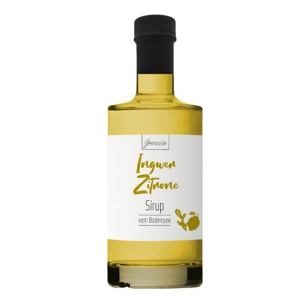 Ingwer-Zitronen-Sirup - Genüssle Ingwer Zitronen Sirup vom Bodensee