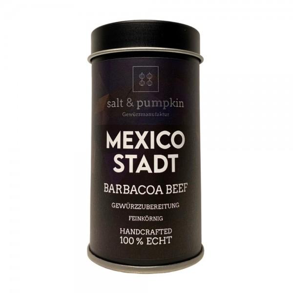 salt & pumpkin MEXICO-STADT 50g, Barbacoa ist das heutige Barbecue
