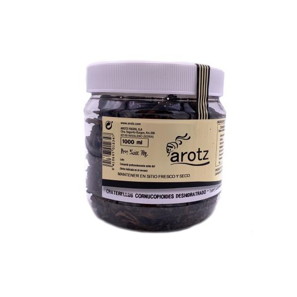 Schwarzer Trompete Pilz - getrocknete Speisepilze der Spitzenklasse aus Spanien - 1.Qualität - 70 g