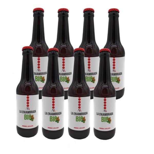 BIO Honig - Met Bier aus Spanien - Premium Qualität - Naturprodukt - 8 x 330 ml