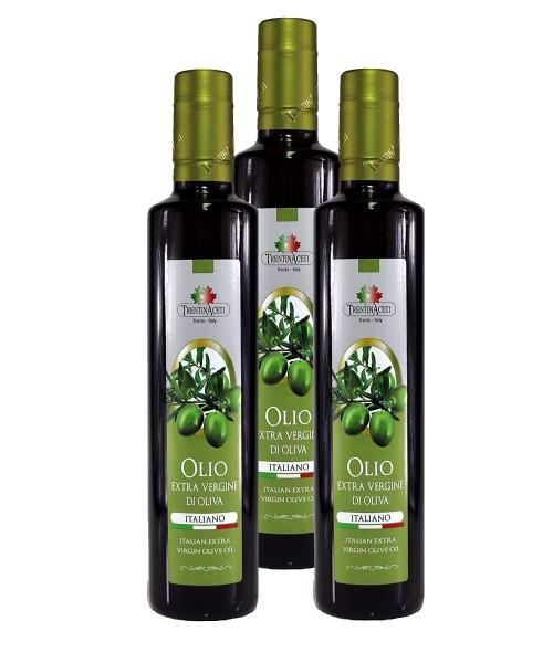 100% Italienisches Extra Natives Olivenöl aus Italien - höchste Qualität - 3x 250 ml
