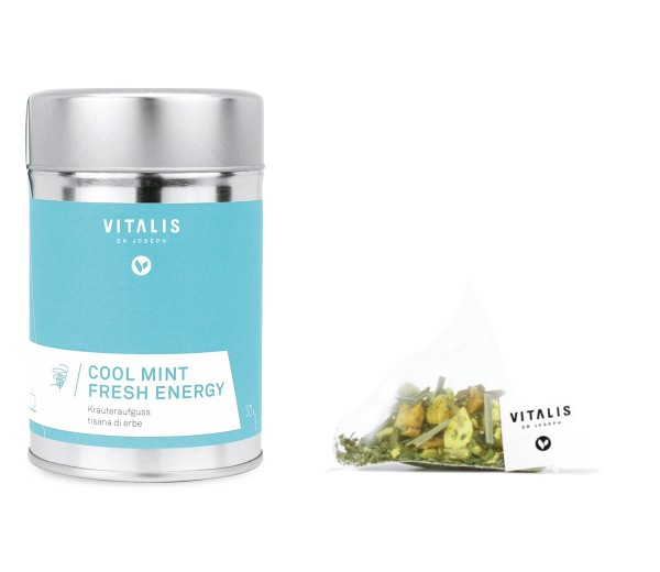 Vitalis - Kräutertee Cool Mint Fresh Energy 36g - Tee von Vitalis Dr. Joseph