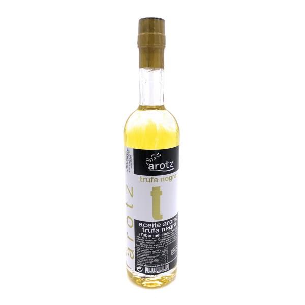 Trüffelöl der Spitzenklasse aus Spanien - Extra natives Olivenöl mit schwarzem Trüffel und Trüffelaroma - 200 ml