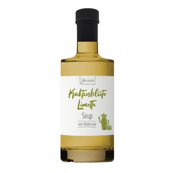 Kaktusblüte-Limette-Sirup - Genüssle Katkusfeigen Sirup vom Bodensee