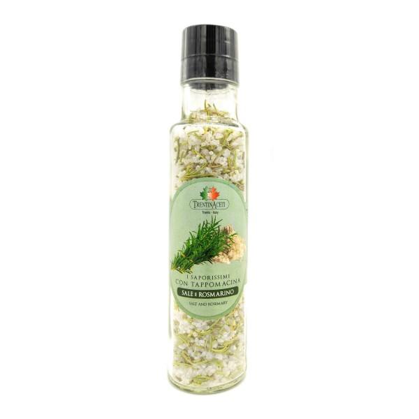 Italienische Gewürzmischung - Rosmarinsalz - Rosmaringewürz - Salz mit Rosmarin - Sale e Rosmarino - höchste Qualität - 240g