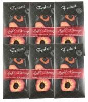 Bodensee Erdbeere Schokolade 6x 100g - Fenkart Schokoladengenuss - Edelschokolade 33%