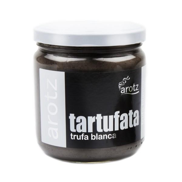 Echte Trüffel - Champignoncreme Paste - Tartufata Creme Paste mit weißem Trüffel verfeinert - 400 g