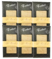 Karamellisierte Meersalz Schokolade 6x 100g - Fenkart Schokoladengenuss - Weisse Schokolade 34%